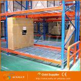 2016新しい金属の鋼鉄によって編まれる金網の倉庫の棚付け