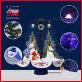 Snow와 Music를 가진 휴일 Fashion Design Streetlamp Snowmen Crafts