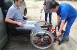 El nuevo estilo 2015 S-Levanta-w el asiento de coche del eslabón giratorio con el sillón de ruedas para lisiado y la anciano