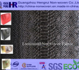 Laminated /Laminating /Lamination PP Spunbond Nonwoven Fabric (No. A8G001)의 PE Coating + Professional Manufacturer