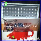 表示を広告するFrameless LEDのライトボックスのAdvertismenttextileファブリックアルミニウムフレーム