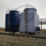 Torre refrigerando quadrada de fluxo transversal de FRP