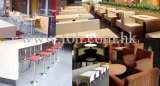 De nieuwe het Dineren van het Ontwerp Witte Dwars AchterStoelen van het Metaal voor Verkoop