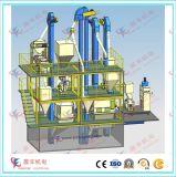 Linea di produzione automatica della pallina dell'alimentazione della macchina/pesci del cilindro preriscaldatore del Aqua da vendere