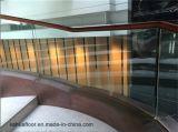 オーストラリアの純木ガラス階段手すりの熱い販売