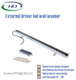 최신 판매 1000mm RGB LED 선형 옥외 벽 세탁기 빛