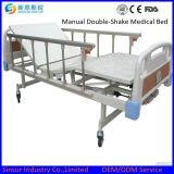 Erschütterung-Krankenhaus-Bett der China-Fabrik-ISO/Ce manuelles doppeltes