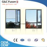 灰色カラーアルミニウム振動外および固定窓ガラス