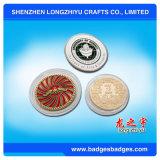 Pièces de monnaie commémoratives faites sur commande de souvenir de bronze d'antiquité de pièce de monnaie avec l'effet 3D