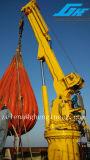Гибкий регулируя телескопичный кран сухого большого части используемый на порте/корабле