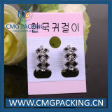 Pink di plastica Card per Earrings