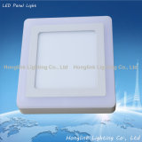 diodo emissor de luz Panel Light de 3With6With12With18W Double Color Ceiling Surface Mounting Square
