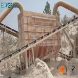 Remoção de poeira do filtro do cimento