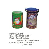 Tea redondo Tin Box con Competitive Price