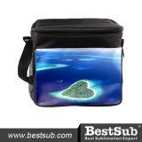 Grand sac isolé de déjeuner (noir) (KB17)