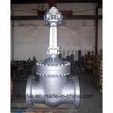 válvula de porta da extremidade da flange de Wcb do aço de carbono do molde de 300lb 600lb