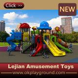 Tamaño pequeño de plástico al aire libre Niños equipo del patio de diapositivas (X1508-6)