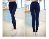 Polainas de las mujeres del algodón de la aptitud de la alta calidad del OEM de la ropa de la gimnasia