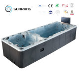 حارّ عمليّة بيع بلبوّا نظامة دوّامة سباحة منتجع مياه استشفائيّة قابل للنفخ مع ماء برهان تلفزيون