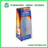 Rectángulo de empaquetado de la lámpara plástica de la aduana LED