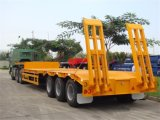 Hightech- hydraulischer Lowbed halb Schlussteil für 100 Tonnen angepasst