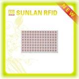 Plastic Inlegsel RFID voor Lay-out van de Zonder contact/Kaart van het Contact de Slimme 3*7