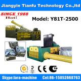 Y81-1250 eliminam a máquina de alumínio hidráulica da prensa da sucata