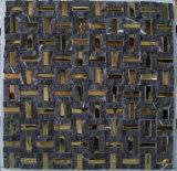 Мозаика Камня Строительного Материала Природы Штамм Меньше Стальная Смешанная для Плитки Пола (FYSM078)
