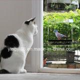 Casa acrílica desobstruída do pássaro do indicador de 100%, exterior alimentadores montados o melhor indicador do pássaro para miúdos & gatos