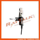 L'écouteur acoustique de tube d'accessoires par radio bi-directionnels pour écoutent seulement