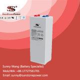 Baterias solares acidificadas ao chumbo tubulares profundas da bateria VRLA de Opzv do gel do ciclo 2V 800ah