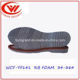 Подошва Outsole Confortable обуви людей резиновый