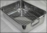 Vaschetta dell'arrosto del quadrato dell'acciaio inossidabile