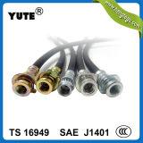 Marque approuvée de Yute de POINT boyau de frein hydraulique de 1/8 pouce