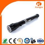 Teleskopisches 3 LED-Minifackel-Licht-ausdehnbare Taschenlampe LED magnetisch
