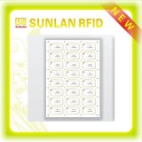 無接触/接触のスマートカード3*7のレイアウトのためのNFCのプラスチックRFID象眼細工