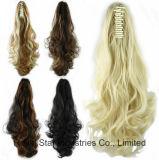 Ponytail riccio lungo di stretta della parrucca delle donne di modo con l'estensione dei capelli