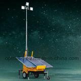 Torres claras móveis ao ar livre solares de potência IP67