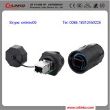 Connecteur RJ45 de Cnlinko Plastic Waterproof IP67 pour Communication Equipment