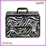 Heißes Zebra-Muster-umfangreicher Koffer für Berufsverfassung (SACMC135)