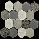 Плитки мозаики шестиугольного льда хруста керамические для украшения 2016 домов