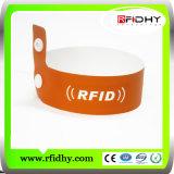 Chipの低価格Lf/Hf/UHF Paper RFID Wristband