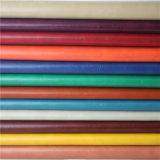 Do sofá do couro couro do plutônio Rexine Semi para a mobília, matéria têxtil (838#)