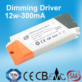 12W 300mA Dimmable LED Stromversorgung mit Cer SAA