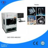 Máquina de gravura do laser dos presentes de cristal móveis da foto 3D mini para a alameda de compra