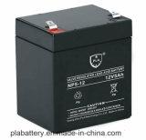 bateria acidificada ao chumbo de 12V 5ah para a bateria recarregável do UPS