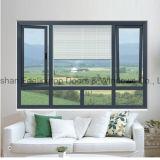 Doppelverglasung-Aluminiumflügelfenster-Fenster (FT-W55)