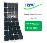 Panneau solaire flexible 100W de Simi de vente chaude avec la pile solaire de Sunpower