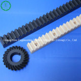 Flexible CNC Machining Plastic PA66 Rack Gear