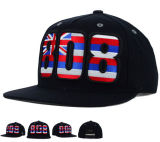 6 Panel 3D-Stickerei-Baseball-Era Snapback Cap